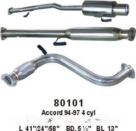 不锈钢排气管(80101)