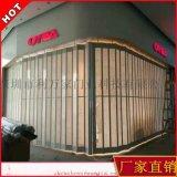 深圳卷帘门厂 水晶折叠门 电动水晶门 铝合金卷帘门