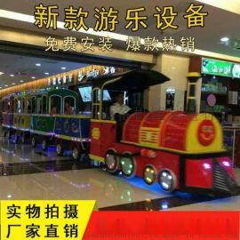 景区无轨道观光小火车报价室内旋转木马新型游乐设备