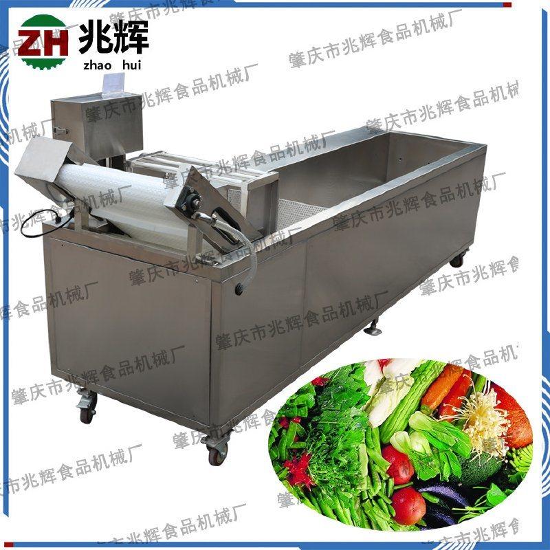 兆辉厂家生产 瓜果气泡清洗机 蔬菜清洗机加工 气泡臭氧杀毒