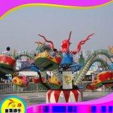 公园游乐场设备旋转大章鱼商丘童星厂家品质保证