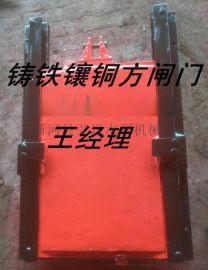 2米*2米铸铁镶铜闸门及螺杆式电动启闭机