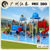 兒童戶外水上樂園,水上滑梯設備,遊泳池水上樂園