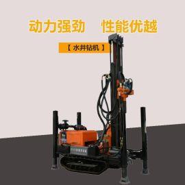轻便水井钻机 中深孔水井钻机 200型气动水井钻机
