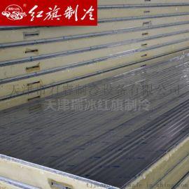 天津红旗聚氨酯夹芯板 冷库PU板 多种规格定制