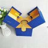 厂家直销茶叶盒双开式茶叶盒布料包中纤板茶叶盒