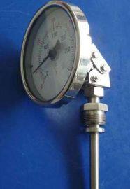 不锈钢温度计WSS-586万向型双金属温度计