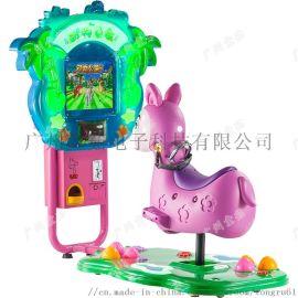 塑料投幣自動搖擺機 廣州童茹小搖擺機