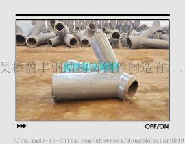 盈丰铸钢厂生产制造铸钢节点铸钢件