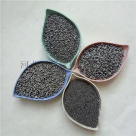 10-20目灰色金刚砂 钢矿砂 耐火材料制造用