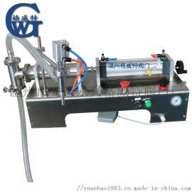 液体灌装机 洗洁精 果汁 饮料半自动脚踏灌装机