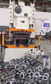 共板法兰冲压生产线,双工位法兰模具,镀锌法兰