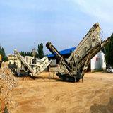 移动式破碎站砂石骨料移动破碎生产线
