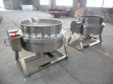 天津食堂熬粥專用夾層鍋,自動出料的夾層鍋