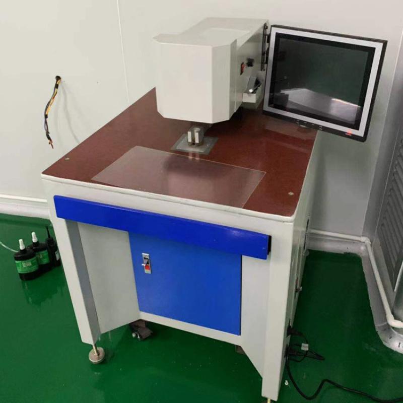 二手全自动打孔机 亚克力CCD自动定位打孔机