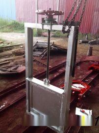 一米乘一米不鏽鋼渠道閘門手動渠道閘門按需定制