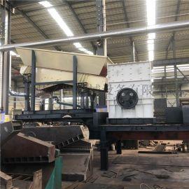 大型轮胎式移动破碎机生产线制砂机移动破碎站