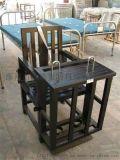 不锈钢审讯床 SXY6 仿木质铁质讯问椅