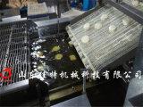 茄盒油炸機有連續生產的嗎,河南全自動茄盒生產線