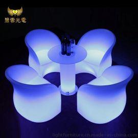 厂家生产 led酒吧发光椅 立体发光led装饰批发 酒吧酒店休闲家具