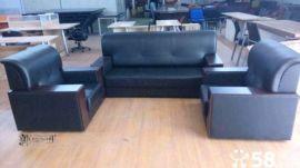 供应办公沙发会客沙发茶几钢架沙发