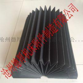 高速工业级光纤切割机设备专用风琴防护罩 防尘折布