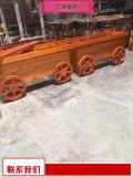 供应商小区塑木花箱大厂家 室外木质花池