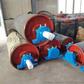 煤炭皮带输送机驱动包胶滚筒厂家型号全
