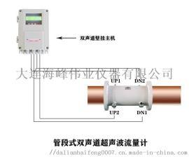 大连**TDS-100双声道管段式超声波流量计