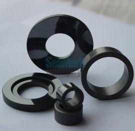耐磨无压烧结碳化硅陶瓷环 苏州碳化硅陶瓷环