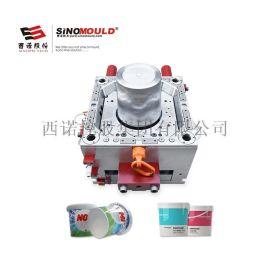 西诺漆桶模具 20L涂料桶 20s快速成型塑料桶