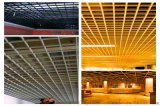 浙江酒楼吊顶铝格栅 大饭店吊顶铝格栅 木纹铝格栅