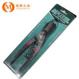 德式铁皮剪防滑包塑柄不锈钢板剪 手动德式白铁剪刀