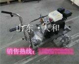 河南鹤壁停车位划线机冷喷式车库划线机万向轮转向