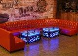 餐飲沙發廠家餐廳卡座圖片酒吧KTV沙發訂做釦子沙發