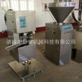 舒克廠家直銷YG-30灌腸機 香腸生產線設備 不鏽鋼液壓灌腸機