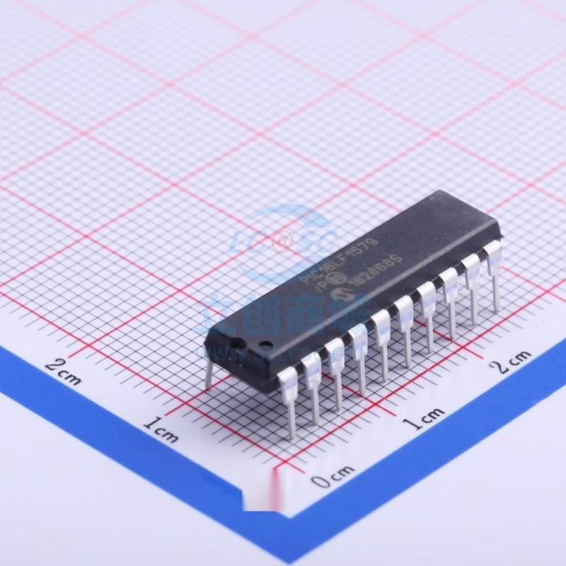 微芯/PIC16LF1579-I/P  原裝