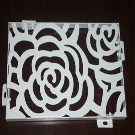 厂家定制环保缕空铝窗花幕墙屏风雕花铝单板装饰材料