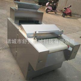 供应麻辣食品猪皮肉饼切丁机 多功能切块机器不锈钢可定制异形
