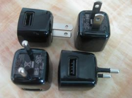 5V100mA黑莓手机充电器,USB耳机充电器,USB蓝牙充电器