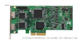 金微视高清广播级1080P2路HDMI视频采集卡