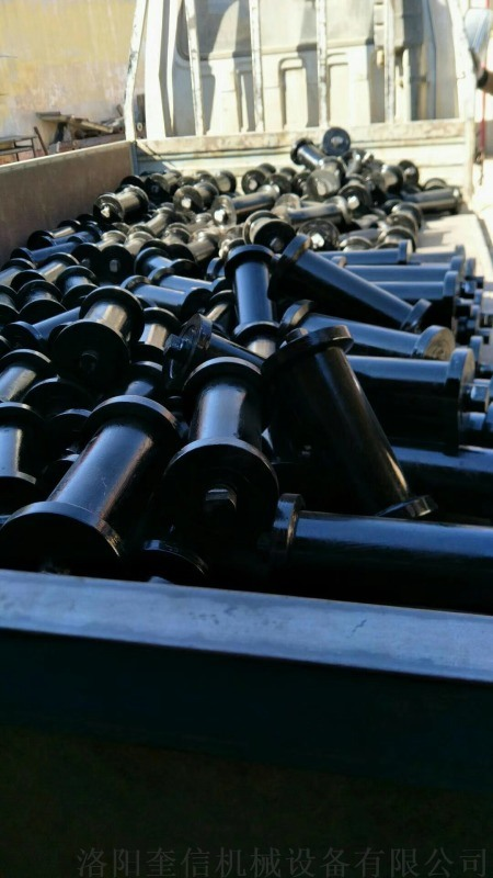 钢地辊 45#钢 斜井专用 耐用 加厚壁