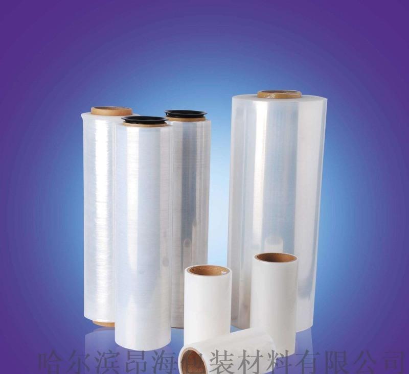 綏芬河防靜電纏繞膜、綏芬河托盤纏繞機專用拉伸纏繞膜