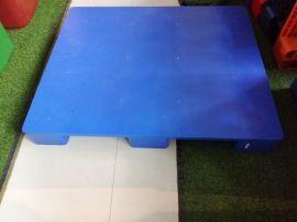 毕节九脚平板塑料托盘,仓储货架防潮板垫仓板1210