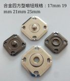 21mm環保歐款合金啪鈕金屬鈕釦