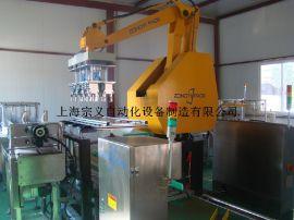 zongyipack 自动机器人装箱机 瓶类产品装箱机 饮料自动装箱机 整线方案设计