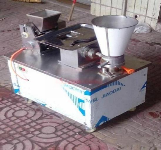邢台森超机械80型水饺机效率高 饺子从模具鱼贯而出