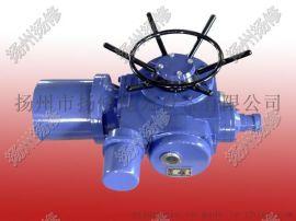 供应扬州电动执行器DZW30-18系列多回转户外型阀门电动执行机构
