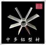 中多汽化器鋁型材鋁合金星型管汽化器翅片中聯板整套加工訂製