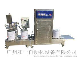 定量液体自动灌装压盖机 DCS-30H-ZDX   单口 灌装**品